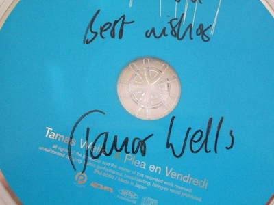 tamas wellsのサイン